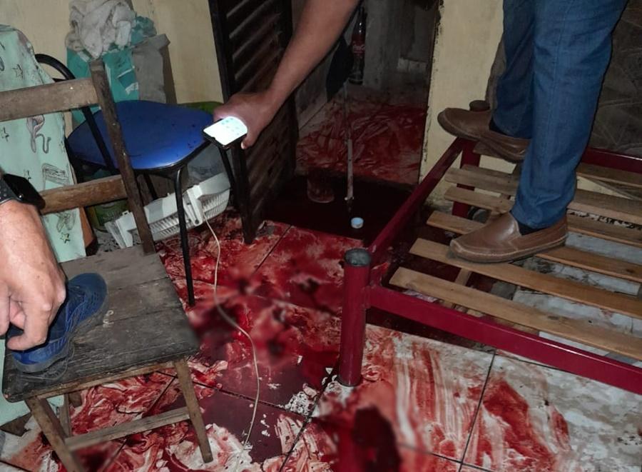 Imagem: local que a vitima morreu Tiroteio no Jardim Paulista deixa uma pessoa morta e outra ferida