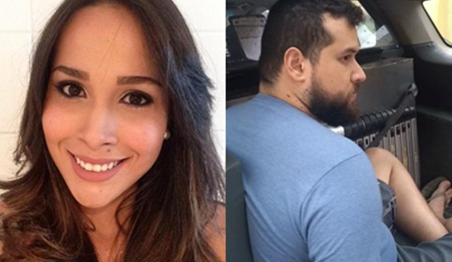 Imagem: medico e beatriz Juiz adia julgamento de médico acusado de matar esposa grávida em Rondonópolis