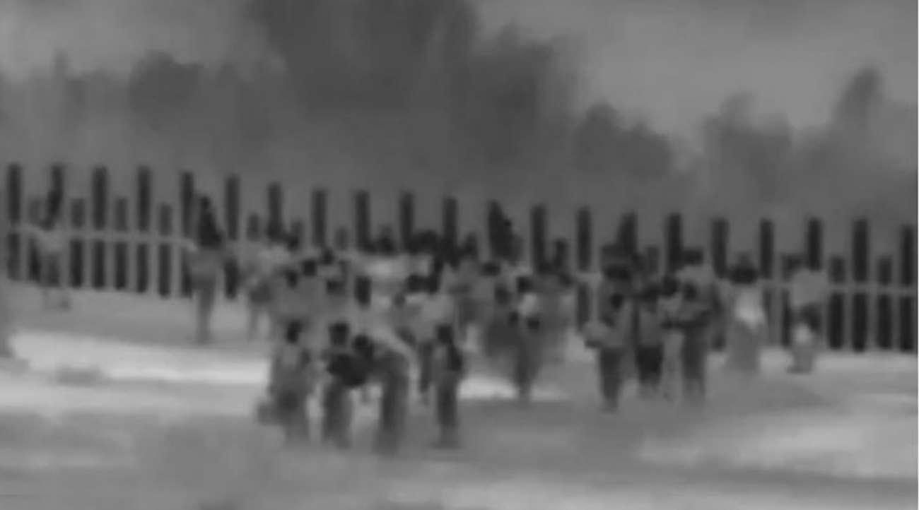 Imagem: migrantes ilegais eua Grupo de 140 brasileiros foi detido ao cruzar ilegalmente fronteira dos EUA