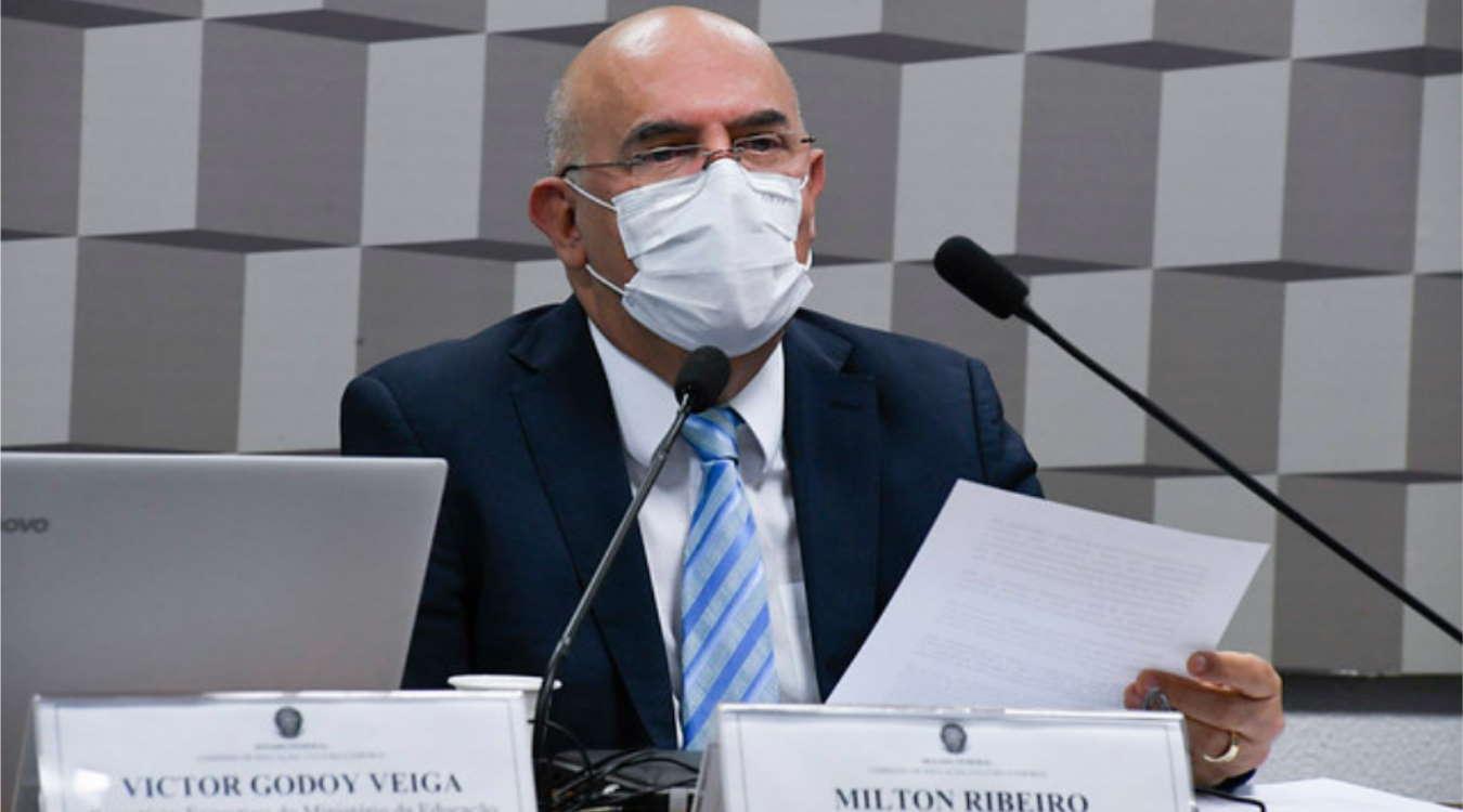 Imagem: milton ribeiro educacao Ministro da Educação pede desculpas por fala ofensiva aos deficientes