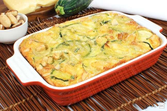 Imagem: omelete de forno com abobrinha Aprenda a fazer 3 receitas práticas para um almoço rápido