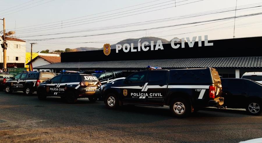 Imagem: op fechamento viaturas PC cumpre 48 mandados em operação contra organização criminosa