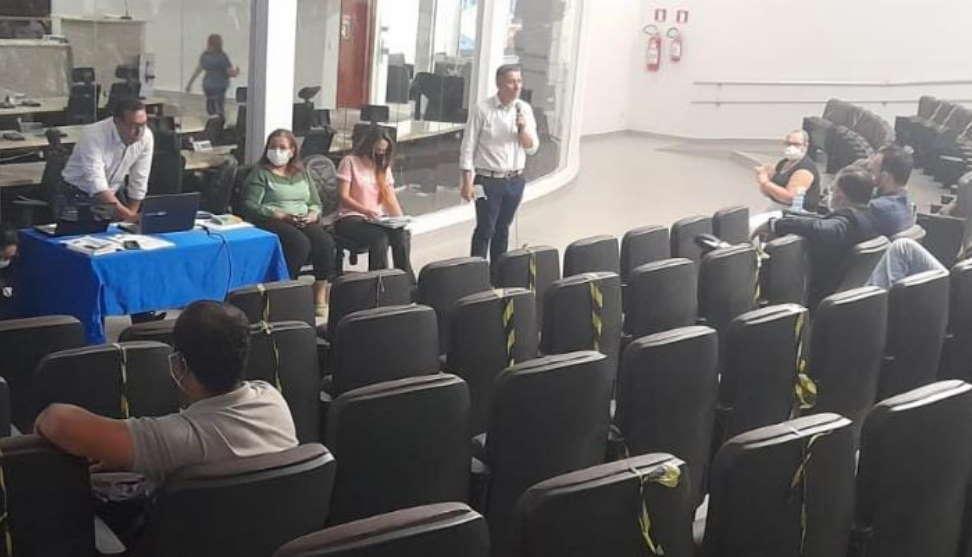 Imagem: runiao camara iptu Entidades defendem adiamento de discussão sobre IPTU em Rondonópolis