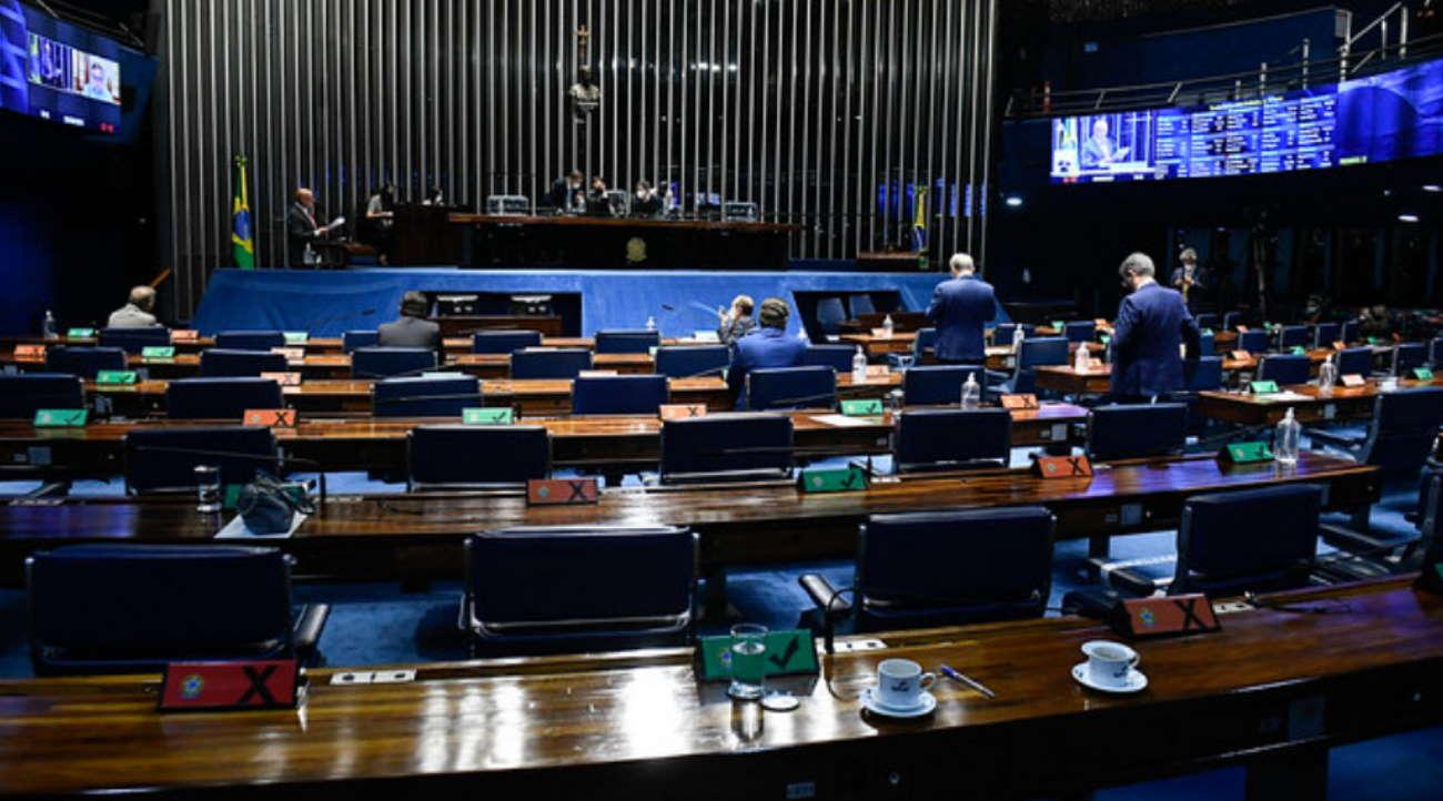 Imagem: senado congresso Senado vota hoje projeto que facilita a prisão de acusados de violência doméstica