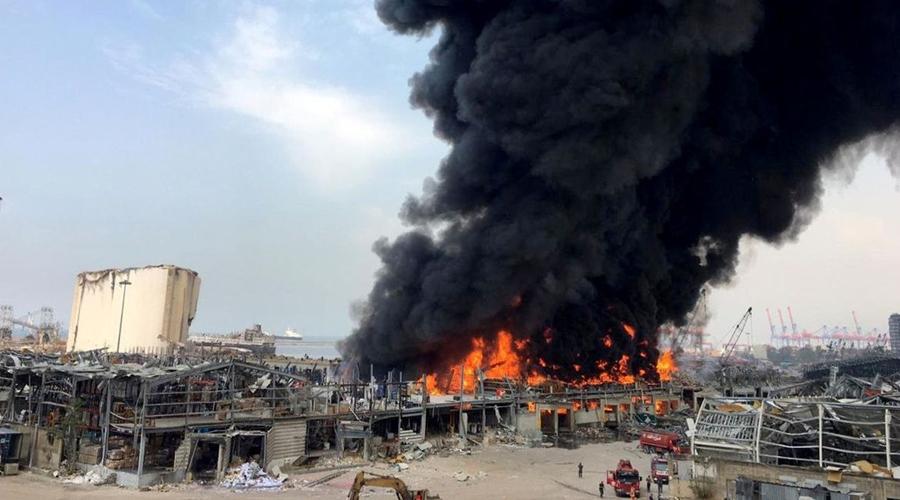 Imagem: 2020 09 10t112651z 1 lynxmpeg890zy rtroptp 4 lebanon crisis fire Disparos abalam Beirute em meio à tensão de inquérito sobre explosão