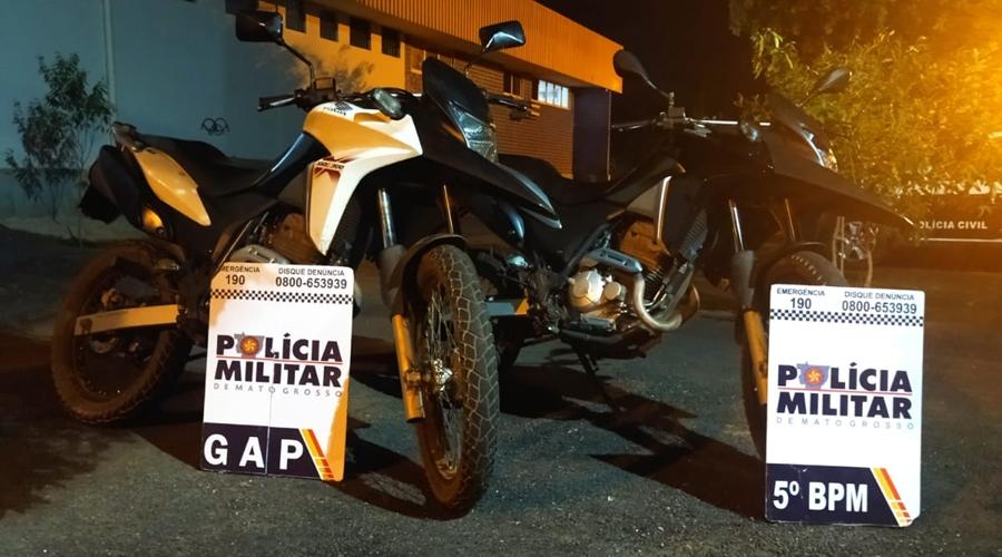 Imagem: 9bbf200b 1dd1 4654 8848 70671ae08ba4 Moto roubada é recuperada pela PM no bairro Alfredo de Castro