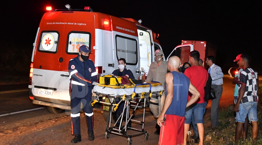Imagem: Crianca de 6 anos ferida apos colisao Motoqueiro causa acidente e foge; mãe e filho de 6 anos que iam para igreja ficam feridos