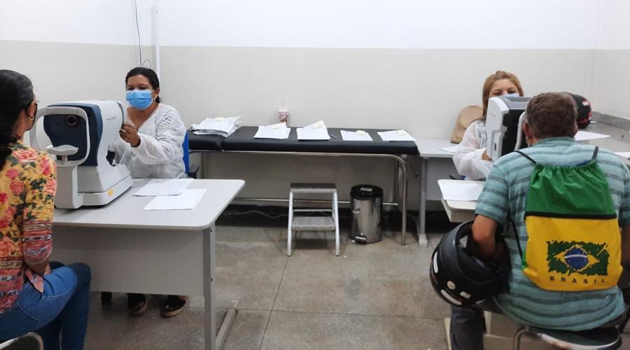 Imagem: Exames oftalmologicos Mutirão da Visão realiza mais de 2,6 mil exames oftalmológicos e faz 96 cirurgias de catarata