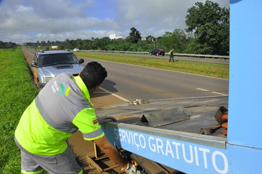 Imagem: Pronblemas mecanicos nas estradas Atendimentos a panes mecânicas sobem 10% durante feriado
