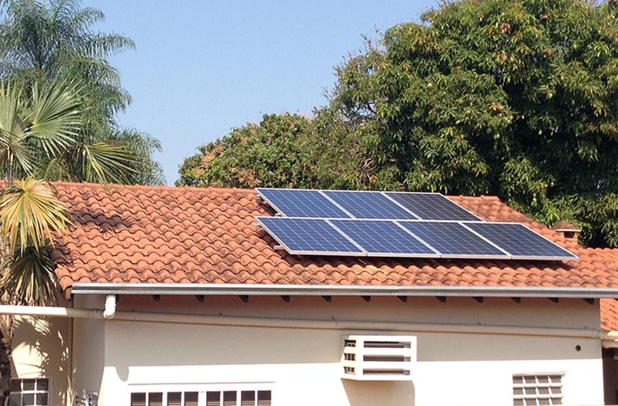 Imagem: energia solar Instalações solares em residências crescem 2.000% no Brasil