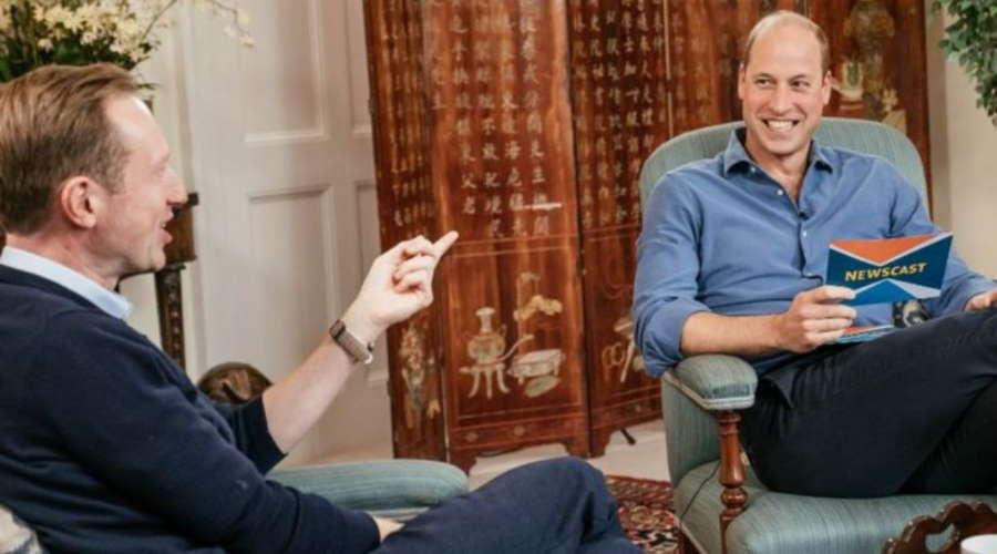 Imagem: principe william entrevista Bilionários deveriam ajudar o planeta e não fazer turismo espacial, diz William